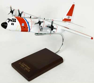 HC-130H Hercules USCG Model Airplane
