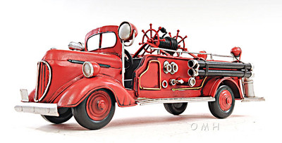 1938 Ford Fire Engine in 1:40 Scale