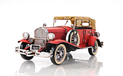 1933 Duesenberg Model J in Red