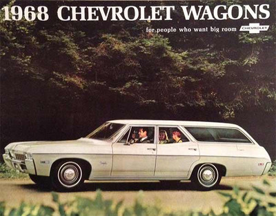 1968 Chevrolet Wagons 15-Page Dealer Catalog