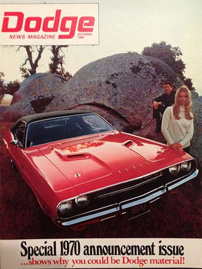 1969 Dodge News Magazine October Issue
