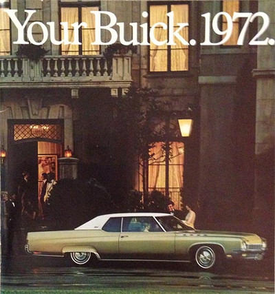 1972 Buick Full Line 49-Page Dealer Catalog