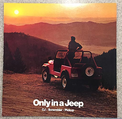 1984 Jeep CJ, Scrambler, Pickup 15-Page Dealer Color Brochure