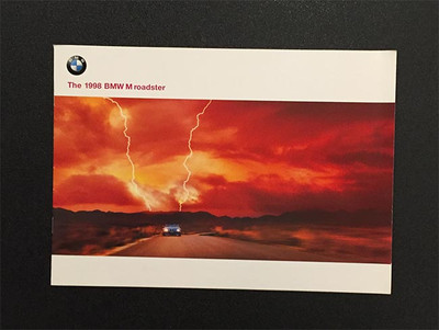 1998 BMW M Roadster Original Brochure
