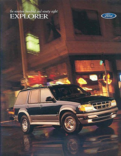 1998 Ford Explorer Original Dealer Brochure