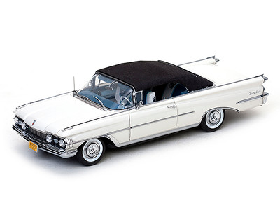 1959 Oldsmobile 98 Closed Convertible Polaris White