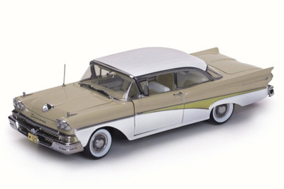 1958 Ford Fairlane 500 Hard Top Colonial White