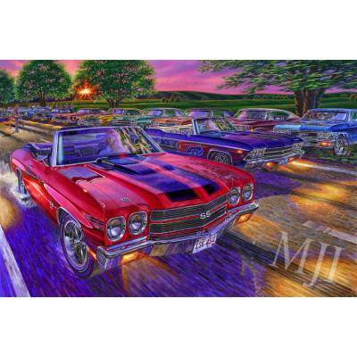 Drop Top Show Down Limited Edition Print