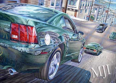 New to the Chase By Michael Irvine Studios Print