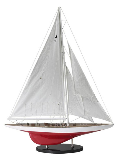 Authentic Models 1937 J-Yacht Ranger Sailboat