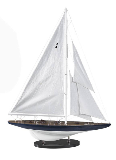 Authentic Models 1934 J-Yacht Rainbow Sailboat