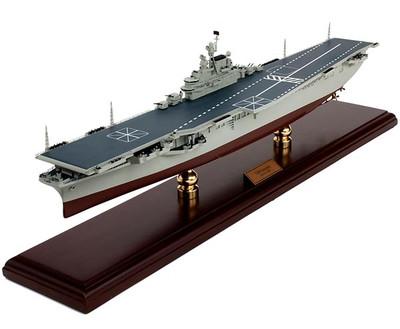 USS Intrepid CV-11 Aircraft Carrier Ship Model