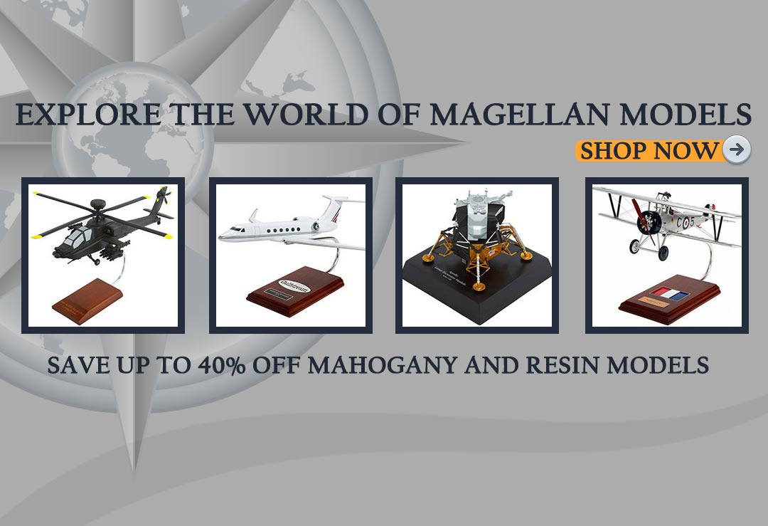 Aircraft Models for sale from Magellan Models