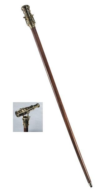 Authentic Models Telescope Walking Stick