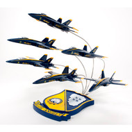Blue Angels in Flying Formation