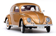 Sun Star 1955 Volkswagen Beetle Saloon Gold One Millionth