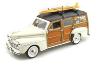 Yat Ming 1948 Ford Woody with Surfboard Cream
