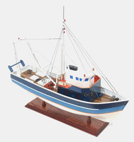 La Confiance Painted Fishing Boat