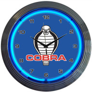 Neonetics Ford Cobra Neon Clock