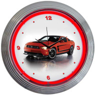 Neonetics Ford Mustang Boss 302 Neon Clock