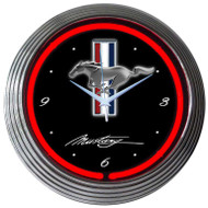 Neonetics Ford Mustang Neon Clock