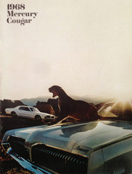 1968 Mercury Cougar Dealer 12-page Brochure