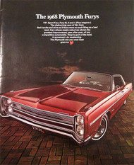 The 1968 Plymouth Furys 28-Page Car Brochure