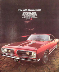 The 1968 Barracudas 10-Page Color Car Brochure