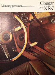 1967 Mercury Cougar and XR-7 Catalog Brochure