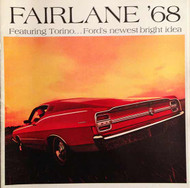 1968 Fairlane and Torino Dealer Color Brochure