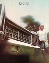 1970 Ford LTD, XL, Galaxie 500, and Custom Brochure