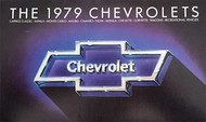 1979 Chevrolet Full Line 22-Page Brochure