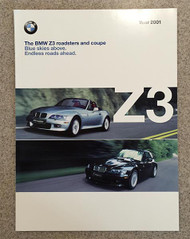 2001 BMW Z3 Roadsters and Coupe Dealer Brochure
