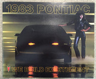 1983 Pontiac Full Line 68-Page Dealer Sales Brochure