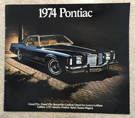 1974 Pontiac Full Line 26-Page Color Brochure