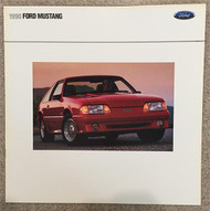 1990 Ford Mustang 15-Page Color Sales Brochure