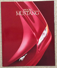 1995 Ford Mustang 23-Page Color Sales Brochure