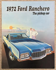 1972 Ford Ranchero Dealer Brochure