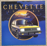 1981 Chevrolet Chevette Dealer Brochure