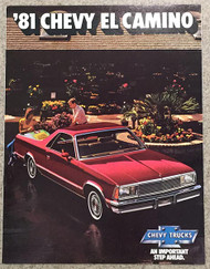 1981 Chevy El Camino Dealer Brochure