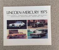 1975 Lincoln-Mercury Original Brochure