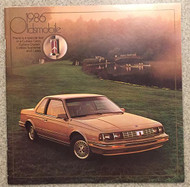 1986 Oldsmobile Cutlass Calais Original Brochure