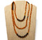Approximately 64 inches long wrap necklace