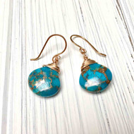 Handmade Bronze French Ear Wires