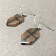 Sterling Silver Chiastolite Devotion Earrings