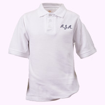 AJA Short Sleeve Slim Polos - Youth