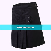 Pre-Order Black Skort