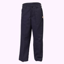 Girls Navy Pants - Slim