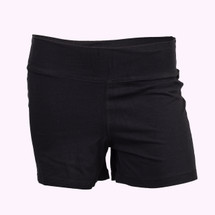 Black Modesty Shorts- Youth