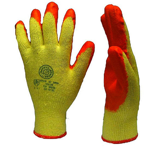 Latex Knit Glove